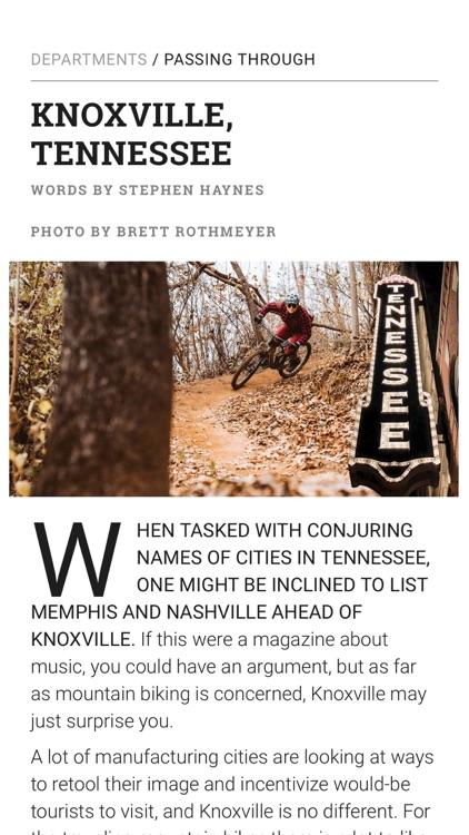 Dirt Rag Magazine screenshot-6