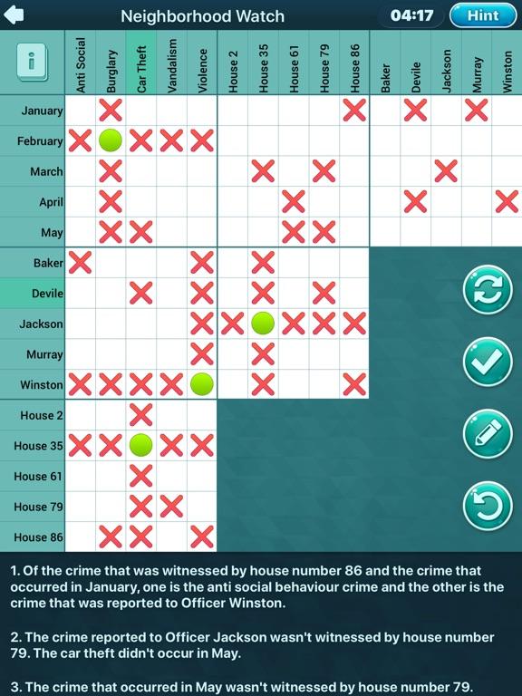Logic Puzzles Daily screenshot