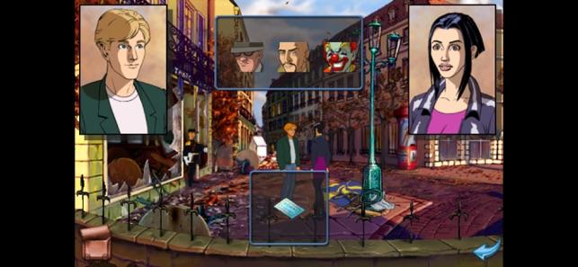 Baphomets Fluch 1: DC Screenshot