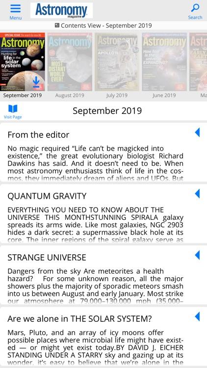 Astronomy Magazine screenshot-5