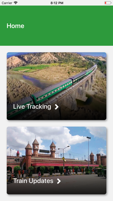 Screenshot for Pak Rail Live in Czech Republic App Store