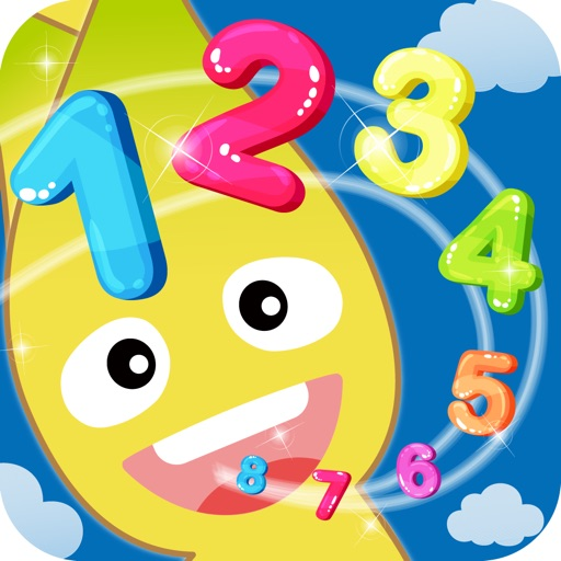子供のゲーム 数え方・数字の勉強ができる教育アプリ! かずあそび