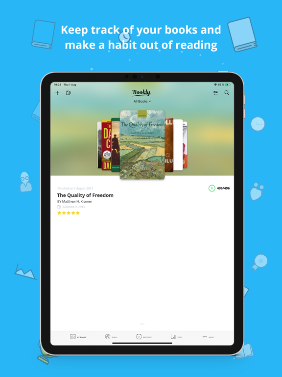 Bookly - Read More Books screenshot