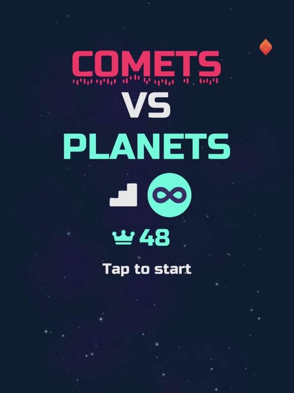 Comets vs Planets! screenshot 7