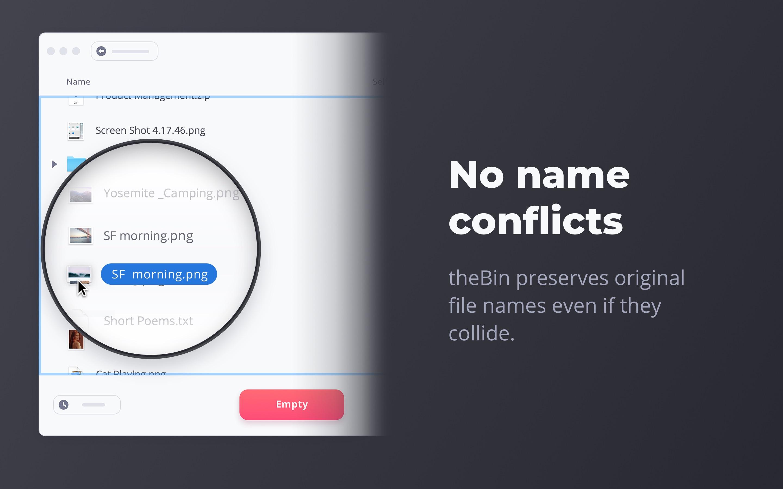 Screenshot do app theBin - Smart Trash Bin