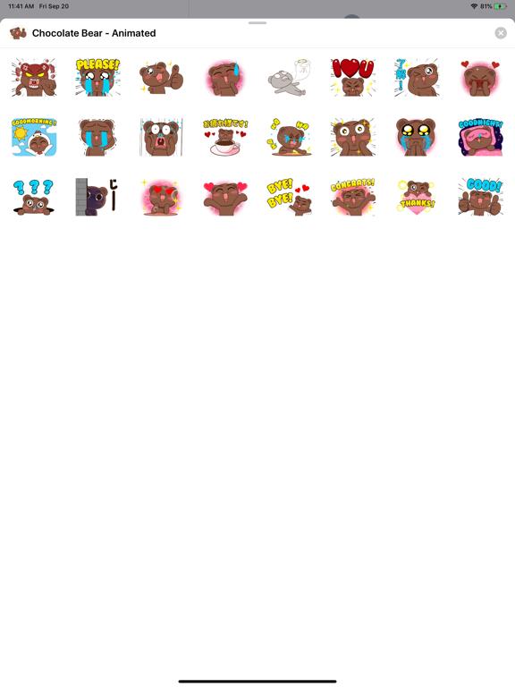Chocolate Bear - Animated screenshot 3