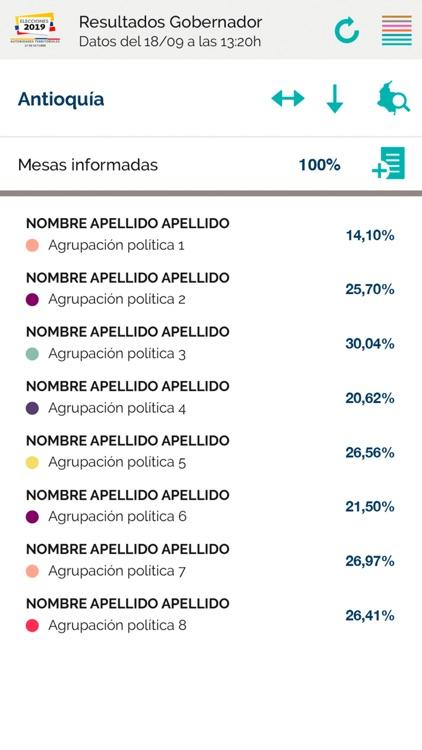 Elecciones Colombia 2019 screenshot-5