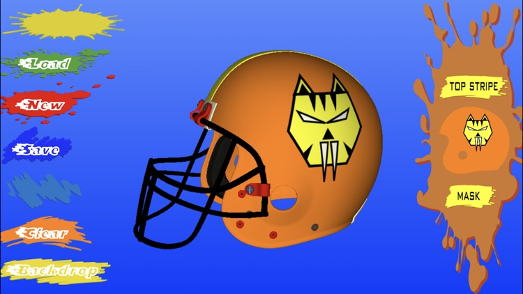 Football Helmet 3D screenshot-3