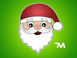 Christmas Stickers: Hi Santa Claus