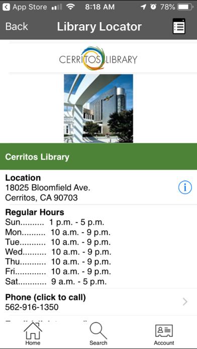 点击获取Cerritos Library To Go