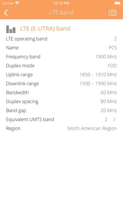 Cellular Info screenshot-7