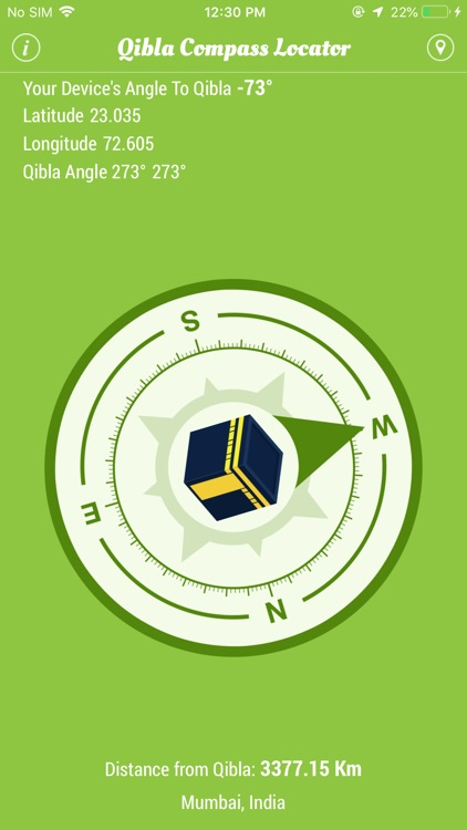 Qibla Compass Locator screenshot-1