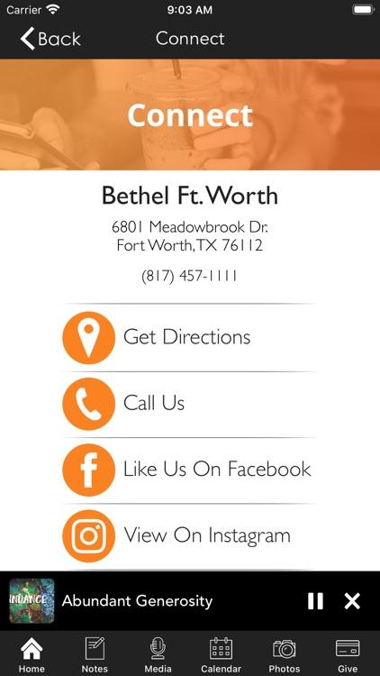 Bethel Fort Worth screenshot-6