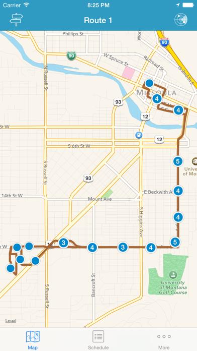 Mountain Line Transit screenshot one