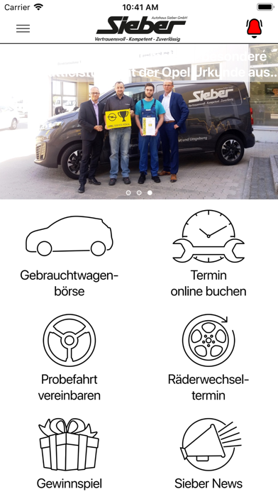 Autohaus Sieber LA - DGF - MAI screenshot 2