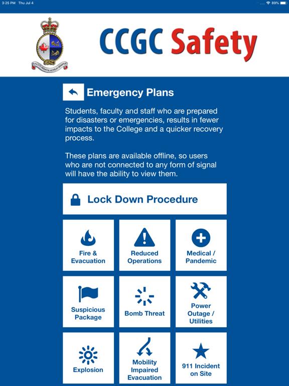 CCGC Safety screenshot 12