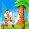 怠け者の木こり 3D - iPhoneアプリ