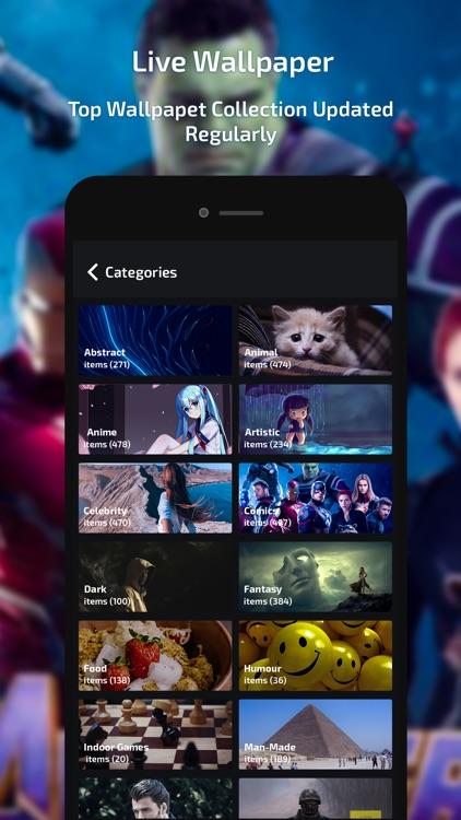 Live Wallpaper -HD Theme Maker