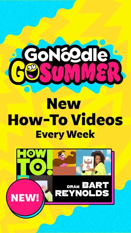 GoNoodle - Kid Movement Videos