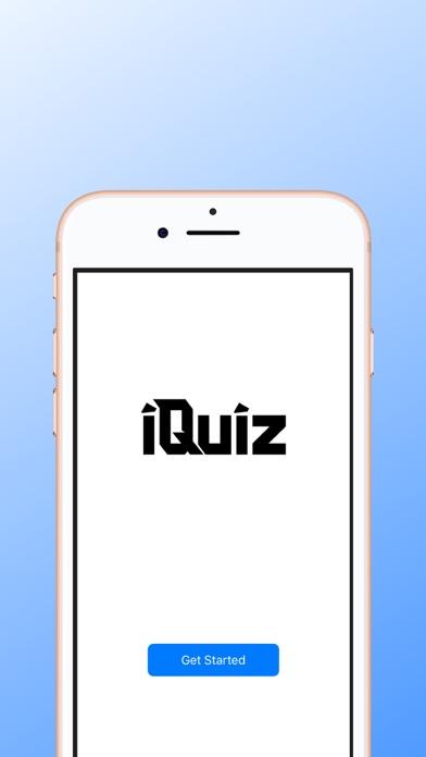 iQuizApp Screenshot