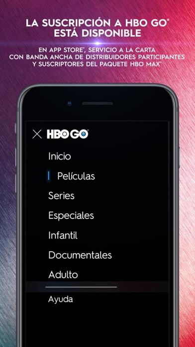Screenshot for HBO GO ® in Peru App Store