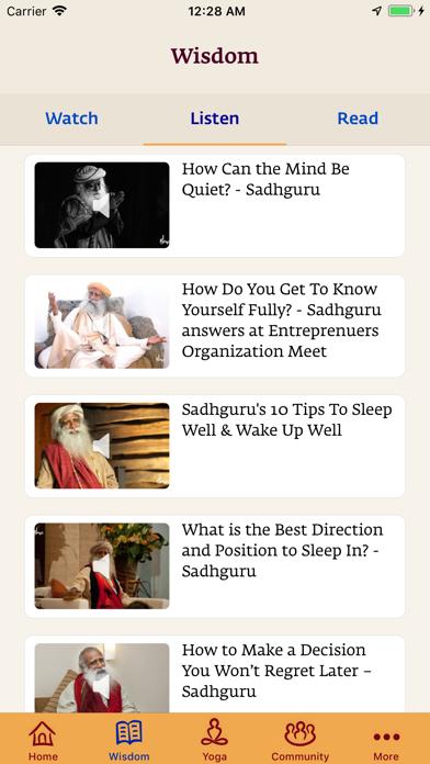 Sadhguru- Yoga & Meditationのおすすめ画像6
