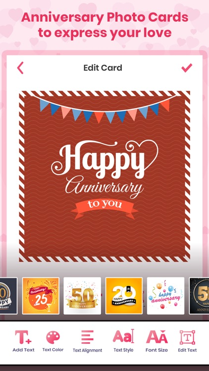 Anniversary Photo Frames Cards screenshot-3