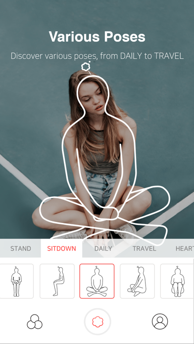 Screenshot for SOVS - Composition Camera in Singapore App Store