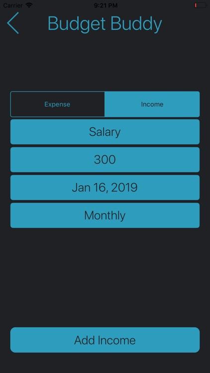 Budget Buddy screenshot-3