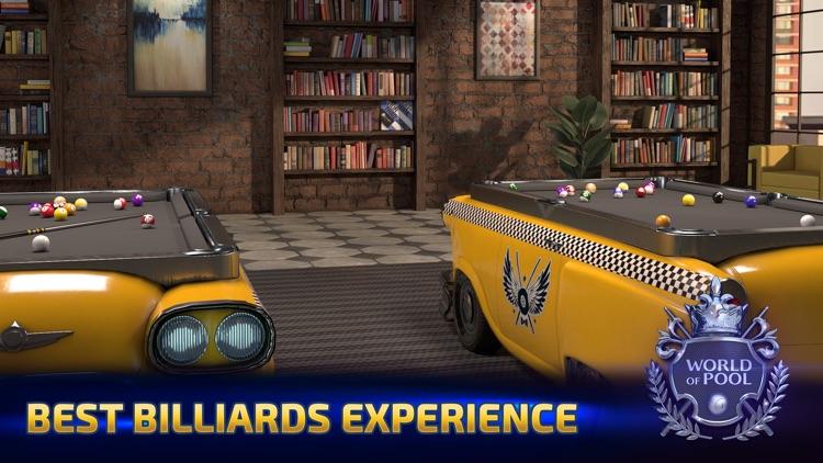 World of Pool: 3D billiards screenshot-4