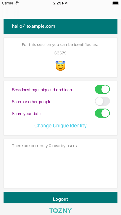 Tozny Secure Nearby Messaging screenshot 5