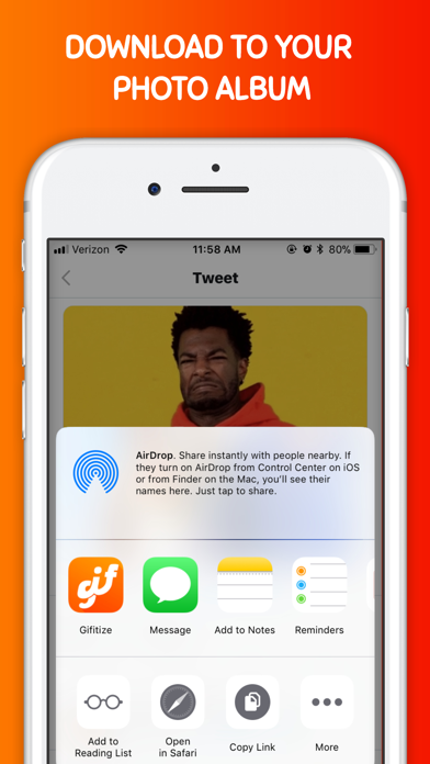 Gifitize ― Save Twitter Gifs screenshot three