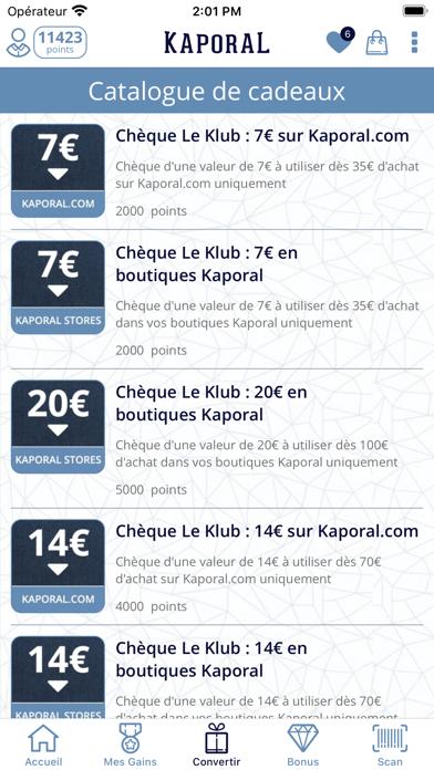 Screenshot #3 pour Le KLUB - KAPORAL