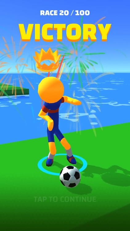 Soccer Race 3D screenshot-4