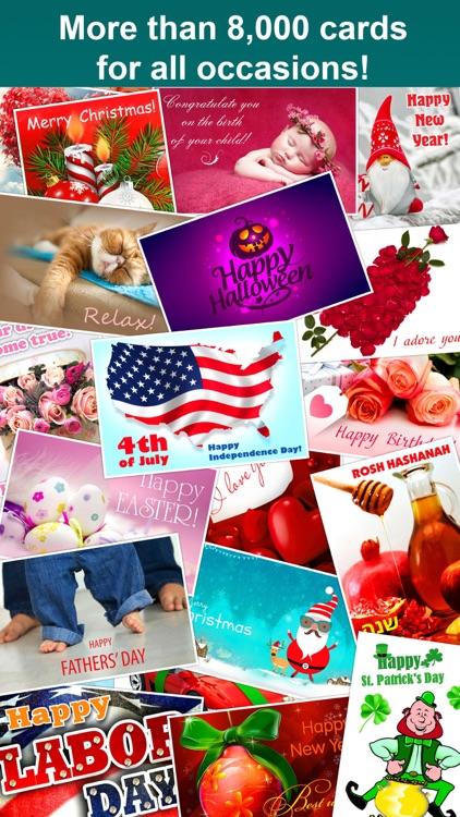 Birthdays greeting cards