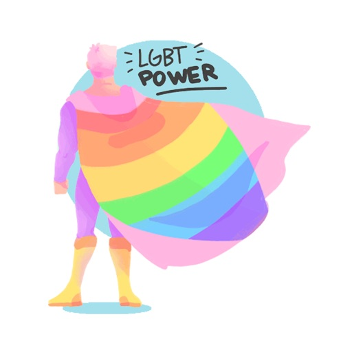 LGBT Power Stickers