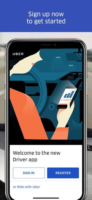 install uber partner app iphone