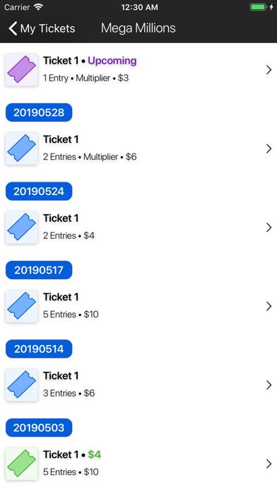 Keno Pro: Scan Lottery Results Screenshot