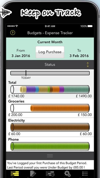 Budgets Pro - Expense Tracker Screenshots