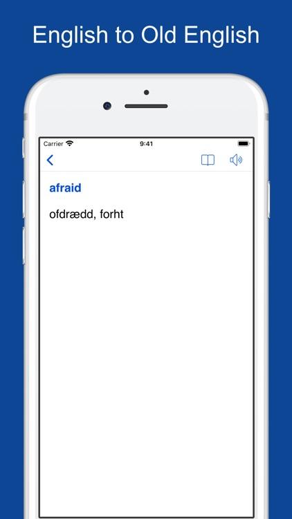 English-Old English Dictionary screenshot-8