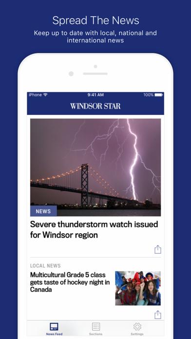 Windsor Star screenshot one