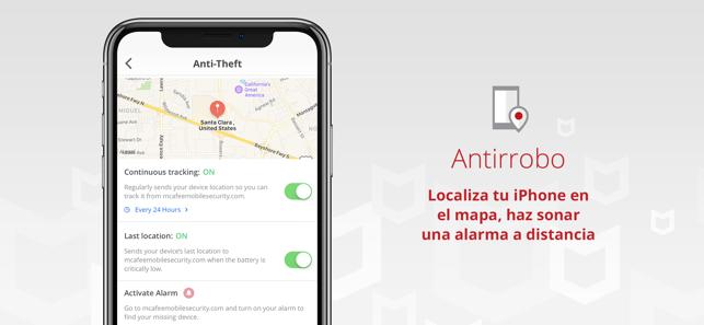 Seguridad móvil y VPN segura Screenshot