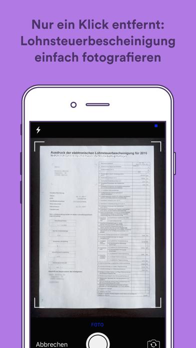 Screenshot for Taxfix - Die Steuer-App in Lebanon App Store