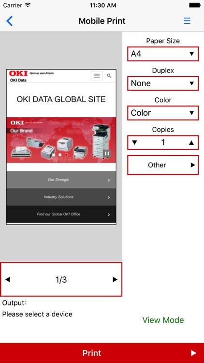 Mobile Print. screenshot-3