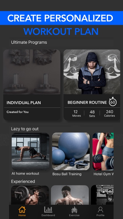 Fitzy Fitness Workout Tracker screenshot-3