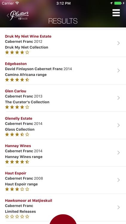 Platter's Wine Guide screenshot-3