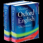 Shorter Oxford English Dict