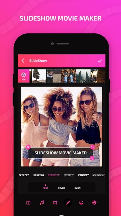 Slide Show Video & Movie Maker screenshot-6