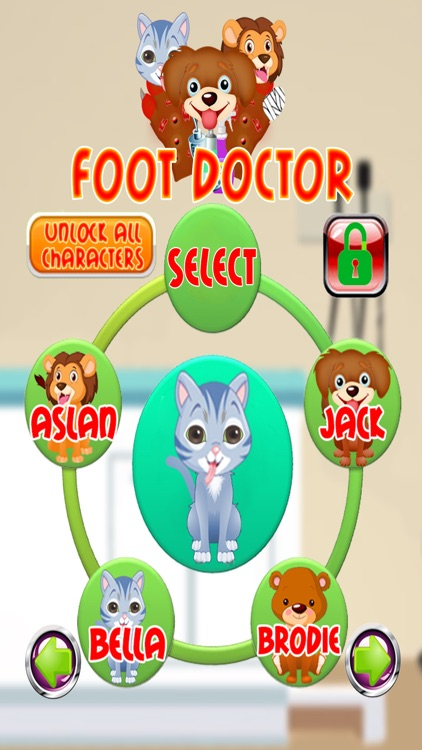 Baby Pet Foot Doctor Girl Game