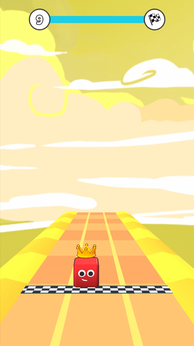Cube Race 3D screenshot 2